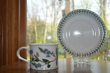 "Portmeirion Botanic Garden""Speedwell"" Cup and Saucer Crest ID Stamp"