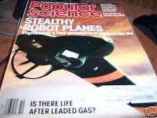 Popular Science 10/1987 Stealthy Robot Planes