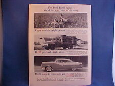 1956 Ford, F-250,350 truck, 620,630,640,650,660,740,820,850,860,950,960 tractor