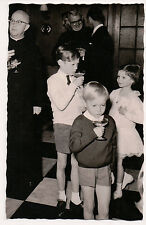 Vintage Postcard Jean, Grand Duke of Luxembourg & Family