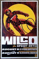 Wilco 2015 Gig Poster Bend & Edgefield Portland Oregon Concert