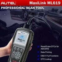 AUTEL ML619 Car Engine Scanner Tool Code Reader Clear Erase Codes OBD2 as AL619