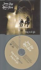 CD--PROMO--JIMMY PAGE ROBERT PLANT--SHINIG IN THE LIGHT --2 TRACKS