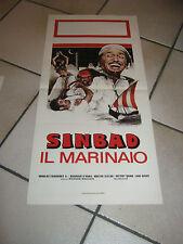 Locandina,SINBAD IL MARINAIO DOUGLAS FAIRBANKS MAUREEN O'HARA