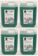 4 X WASHING UP LIQUID 5 LITRES GREEN KITCHEN DISHES SOAP WASH CLEAN DETERGENT