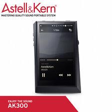 Astell&Kern AK300 Portable High-Res 4In Digital Music Player 64Gb Midnight Black