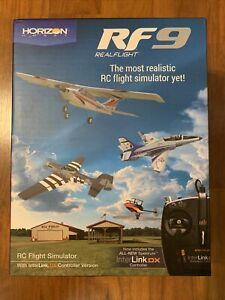 RealFlight RFL1100 RF9 RC Flight Simulator Software with Spektrum NIB!!!