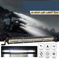 Led Light Bar 12 Inch Single Row Led Light Bar Spot Flood Combo Driving OffG6K4