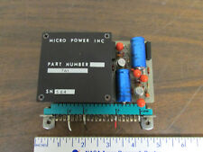 Micro Power Inc Power Supply 15V Plus And Minus Test Equipment Part