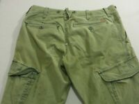 079 MENS EX-COND INDUSTRIE SERVICE CORPS TAPERED CARGO PANTS SZE 32 REG $110 RRP