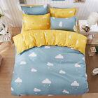 Home Single Queen King Bed Set Pillowcase Quilt/Duvet Cover oAUR Cloud Rain Drop