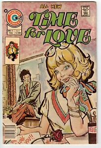 TIME FOR LOVE #46 1976 CHARLTON BRONZE AGE!