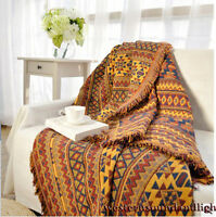 100% cotton Extra Thick Sofa Cover Throw Chair Cover Blanket Multi use Bed Sheet
