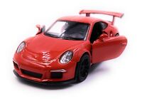 Porsche GT3 Rs Voiture Sport Maquette de Auto Rouge Échelle 1:3 4 (Licencé)