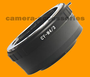C/Y Contax Yashica lens to Micro 4/3 Four Thirds m4/3 camera Mount Adapter Ring