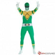 Morphsuits Mlprgm Morphsuit Costume Carnevale Power Ranger Verde Unisex M