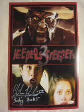 Chester Rushing - Buddy - Signed JEEPERS CREEPERS 11x17 Photo - JSA (WP) COA  #4