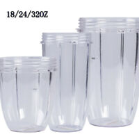 18/24/32OZ Magic Clear Juicer Mug Fruit Squeezer Cup Accessory For Nutribullet