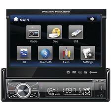 "POWER ACOUSTIK PTID-8920B 7"""" Single-DIN In-Dash Motorized Touchscreen LCD DVD R"
