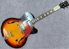 New Full Hollow Body Guitar Electric Gutiar(Sunburst Color)