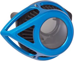 Arlen Ness Clear Tear Sucker Blue 18-903