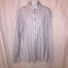 pre-loved authentic DOLCE & GABANNA size 17 / 43 Cotton Button Down Dress Shirt