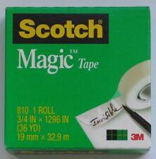 Scotch Magic Tape - Pack of 3 Rolls