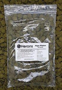 HERONS Premium Algae Wafers [200g] TROPICAL FISH Pleco Catfish Shrimp Snail