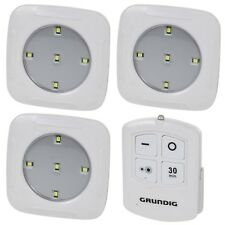 Grundig Wireless Remote Control Wall Ceiling LED Lights Counter Cabinet Cupboard