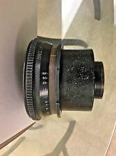 Bausch & Lomb Baltar  FL 30mm BNC Mounted Cine Camera Lense
