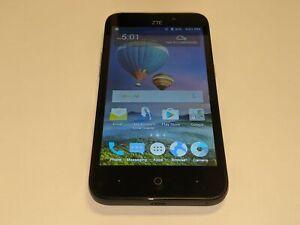 ZTE ZFive 2 Z837VL 8GB TracFone Wireless 8GB Black Smartphone/Cell Phone
