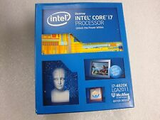 New Intel i7 4820K 3.7GHz 10M Cache Quad-Core CPU SR1AU LGA2011 W/O Fan heatsink