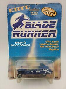 1982 ERTL BLADE RUNNER DIE-CAST BRYANT'S POLICE SPINNER 1873 RARE VHTF
