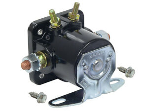1965-66 Ford Starter Solenoid Fairlane Falcon Galaxie Mustang FoMoCo Black New