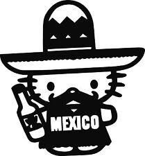 Mexico Hello Kitty Decal- Vinyl Stickers-Mexican -Mexicano