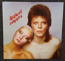 David Bowie Pinups 2016 Cardboard Promo Poster Flat