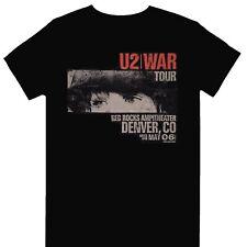 More details for u2 - war tour red rocks official licensed t-shirt