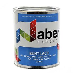 0,750 ml Buntlack RAL 1021 Rapsgelb - Glänzend
