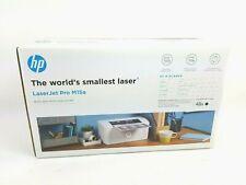 HP LaserJet Pro M15a Compact Laser Printer Software/drivers USB Power Cord