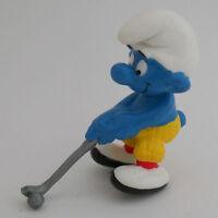 20055 Golfschlumpf - NEU! ----- Golfer  Schleich smurf perfect !