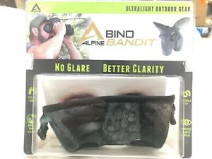 NEW Alpine Innovations Bino Bandit Vanish Shadow Camo Binocular Eye Shield