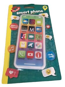 Kids Toy Mobile Phone Educational Learning iPhone Musical Sound Light Sparkle