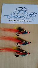 3x Ghillie Size 6 Double Hook  Salmon Fishing Flies