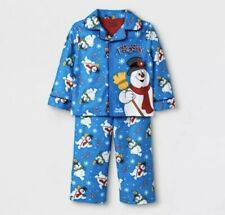 Frosty the Snowman Pajamas 2 Piece Set Holiday Clothing Pj's sleepwear 12 Month