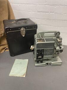 Vintage Siemens 2000 16mm Sound Cine Film Projector Inc Case