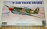 Revell New P-40B Tiger Shark WWII Aircraft 1/48 scale Model Kit ships from USA