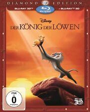 Blu-ray 3D - DER KÖNIG DER LÖWEN - Diamond Edition  W. Disney NEU  incl. Schuber