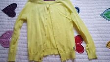 LITTLE JOULES CARDIGAN yellow  SWEATER  128 8