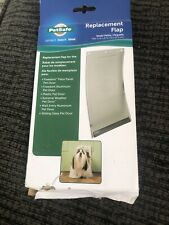 Open Petsafe Replacement Flap for Freedom, Aluminum, Extreme Weather Dog Door SM