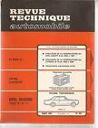 REVUE TECHNIQUE AUTOMOBILE 251 RTA 1967 OPEL REKORD B C KADETT CITROEN ID 19